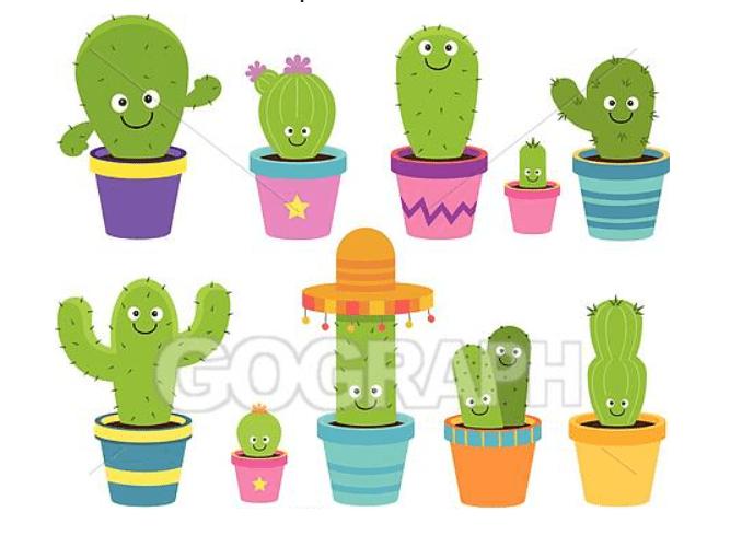 240+ Cactus Clipart 2021: Free and Premium Collections - cactus clipart 29
