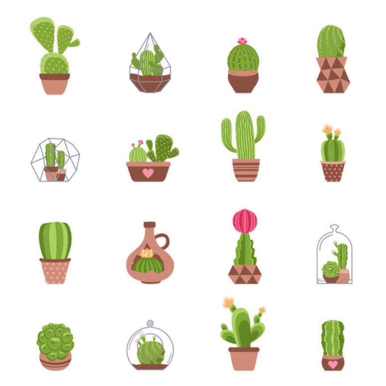 240+ Cactus Clipart 2021: Free and Premium Collections - cactus clipart 7