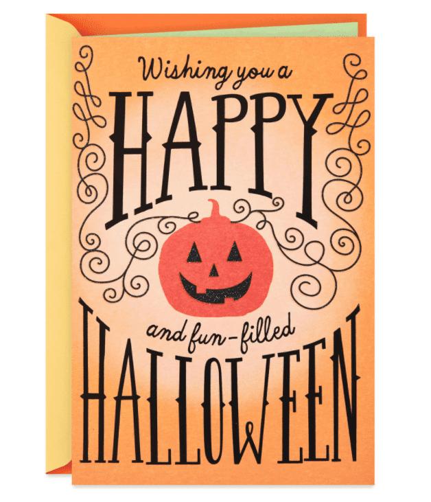 25+ Spookily Beautiful Halloween Cards 2020 👻 - card 1