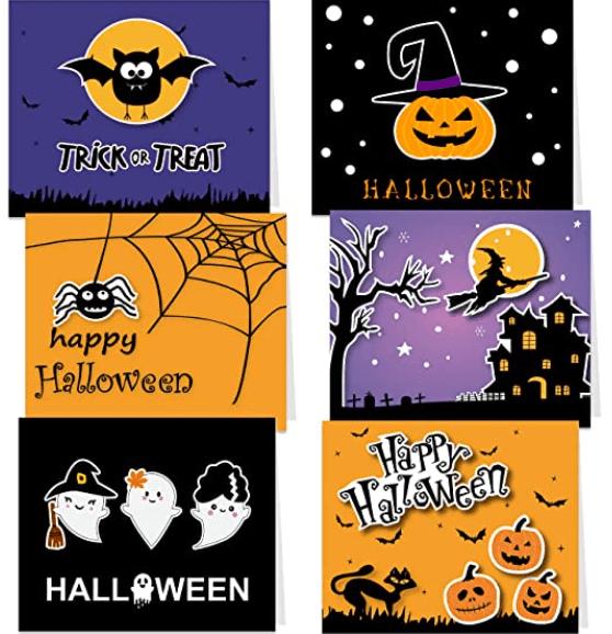 25+ Spookily Beautiful Halloween Cards 2020 👻 - card 10