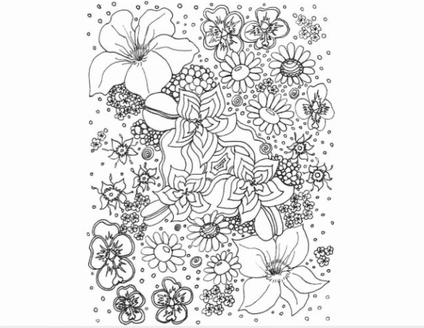 40+ Best Coloring Pages & Cards for Adults 2021: Free & Premium - card 12 1