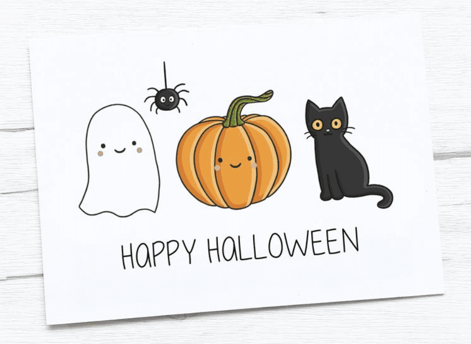 25+ Spookily Beautiful Halloween Cards 2020 👻 - card 12