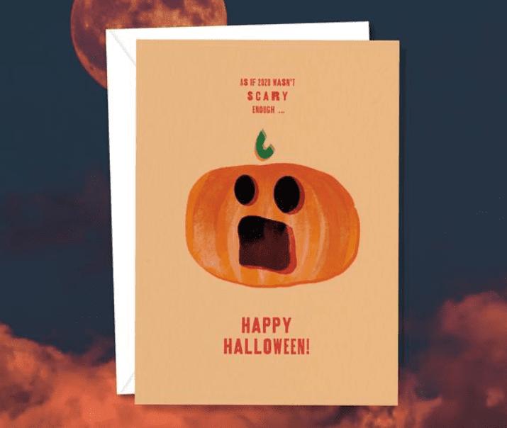 25+ Spookily Beautiful Halloween Cards 2020 👻 - card 13