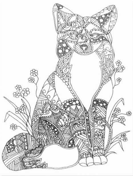 40+ Best Coloring Pages & Cards for Adults 2021: Free & Premium - card 14 1
