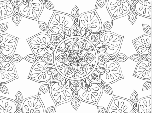 40+ Best Coloring Pages & Cards for Adults 2021: Free & Premium - card 15 1