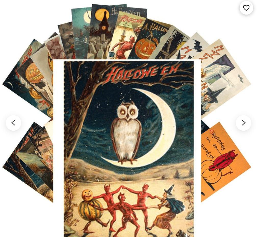 25+ Spookily Beautiful Halloween Cards 2020 👻 - card 15