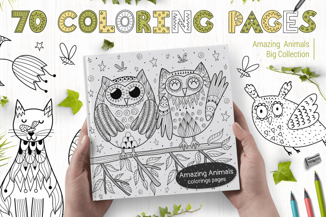 40+ Best Coloring Pages & Cards for Adults 2021: Free & Premium - card 16 1