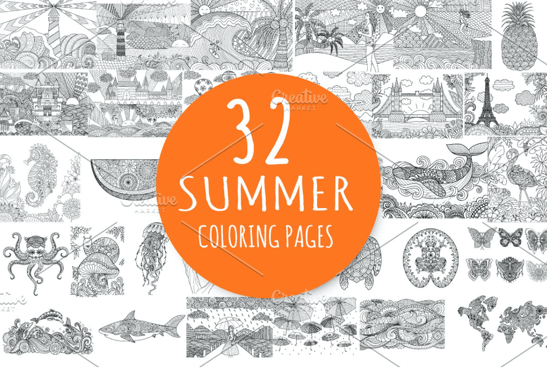 40+ Best Coloring Pages & Cards for Adults 2021: Free & Premium - card 17 1