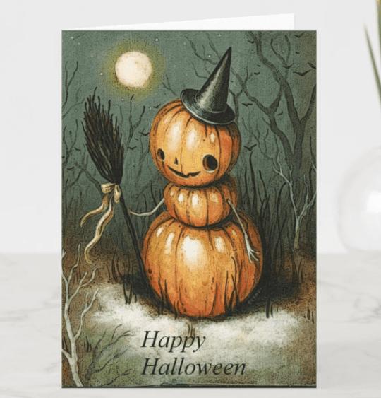 25+ Spookily Beautiful Halloween Cards 2020 👻 - card 17