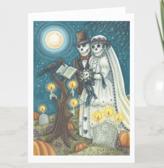 25+ Spookily Beautiful Halloween Cards 2020 👻 - card 18