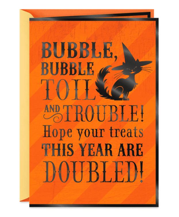 25+ Spookily Beautiful Halloween Cards 2020 👻 - card 2