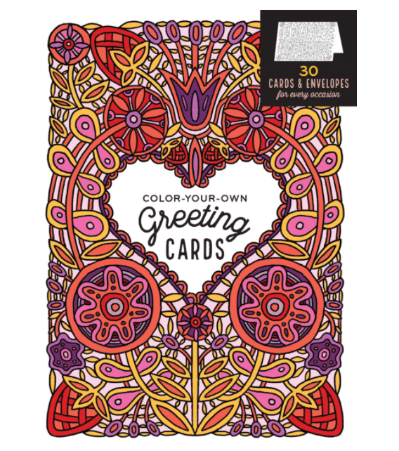 40+ Best Coloring Pages & Cards for Adults 2021: Free & Premium - card 26 1