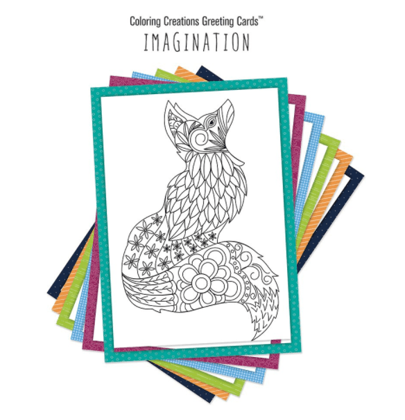 40+ Best Coloring Pages & Cards for Adults 2021: Free & Premium - card 29