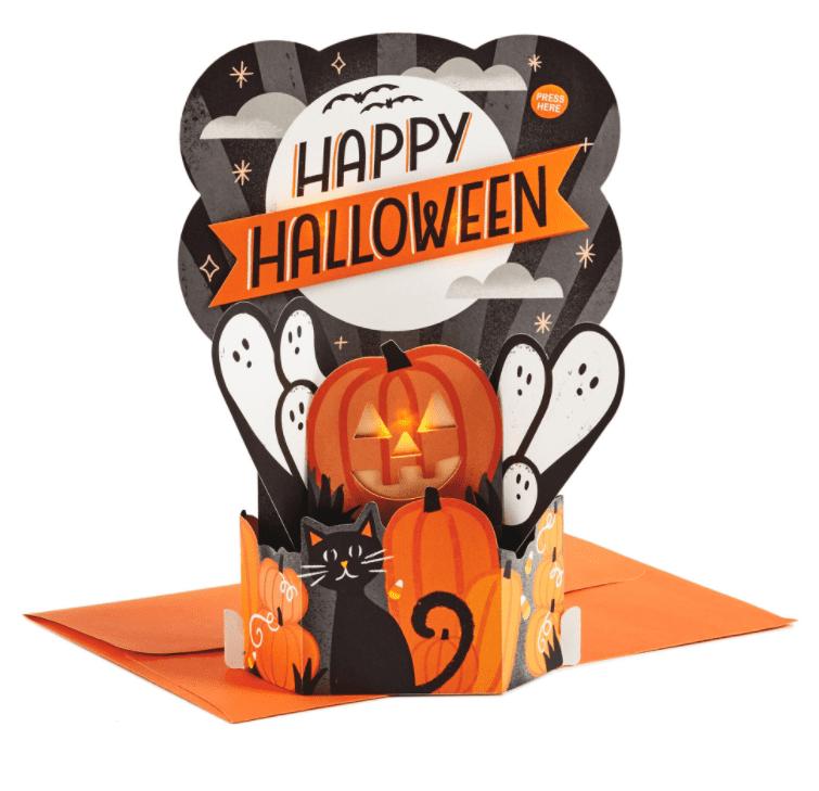 25+ Spookily Beautiful Halloween Cards 2020 👻 - card 4