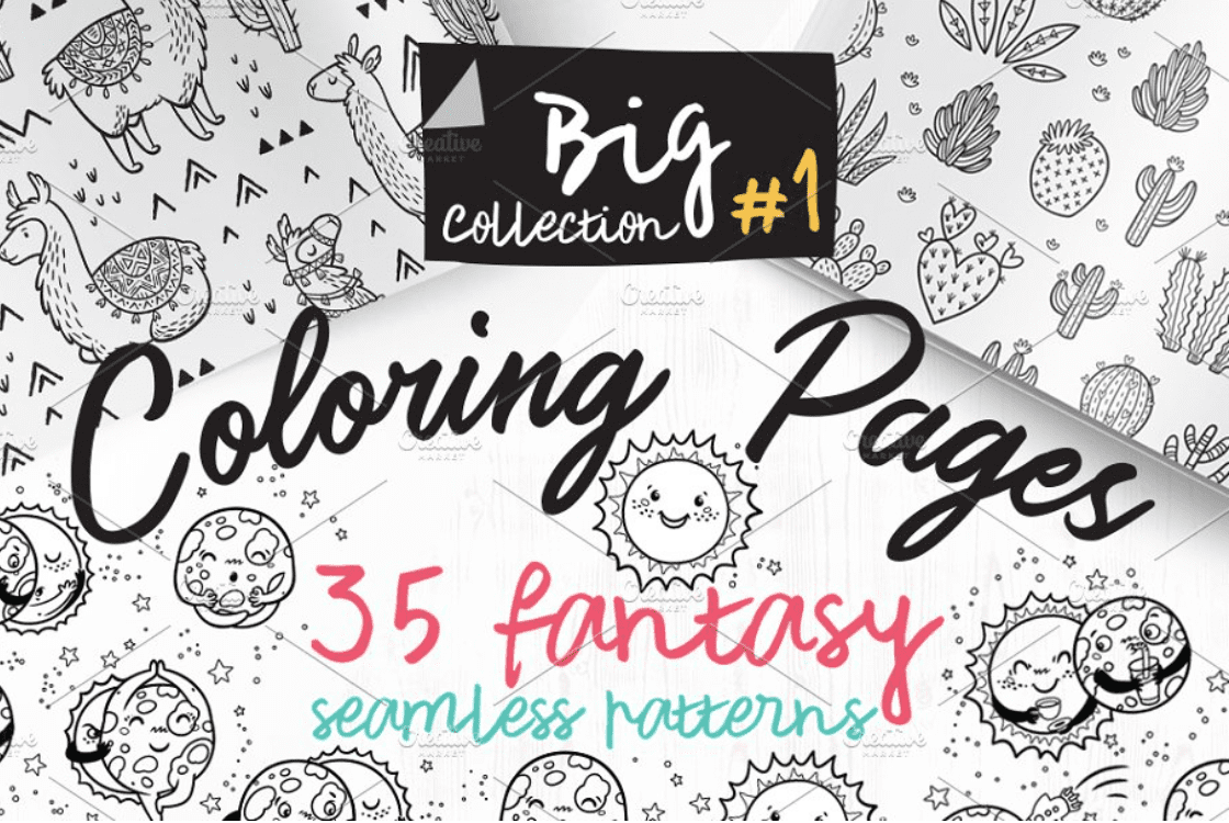 40+ Best Coloring Pages & Cards for Adults 2021: Free & Premium - card 9 1
