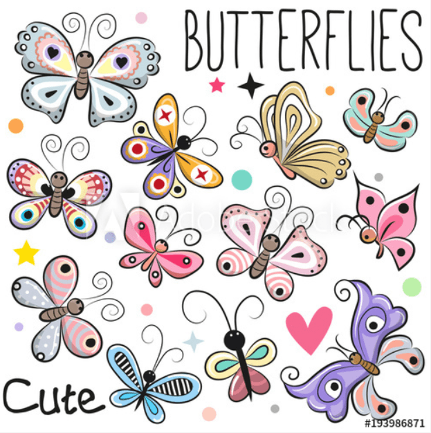 Best Butterfly Clipart 2021: What and Where to Search for? - clipart 15