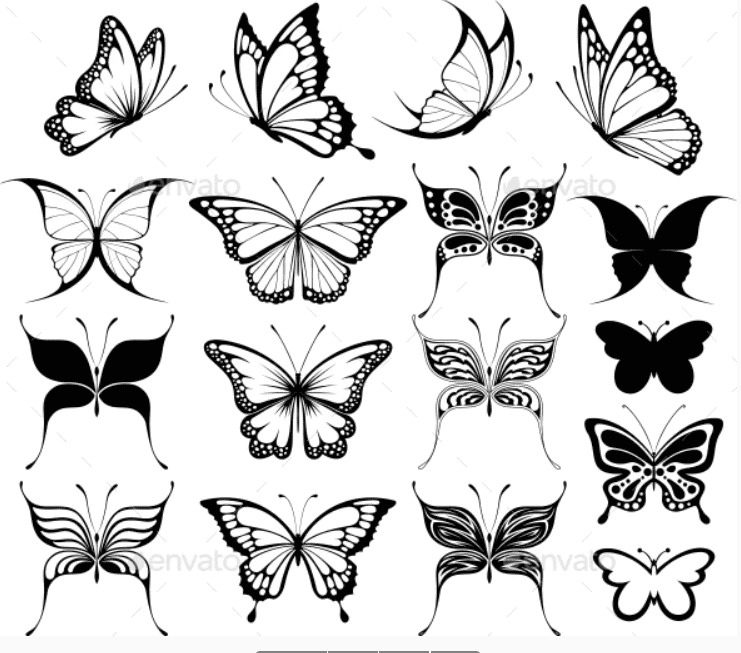 Best Butterfly Clipart 2021: What and Where to Search for? - clipart 17