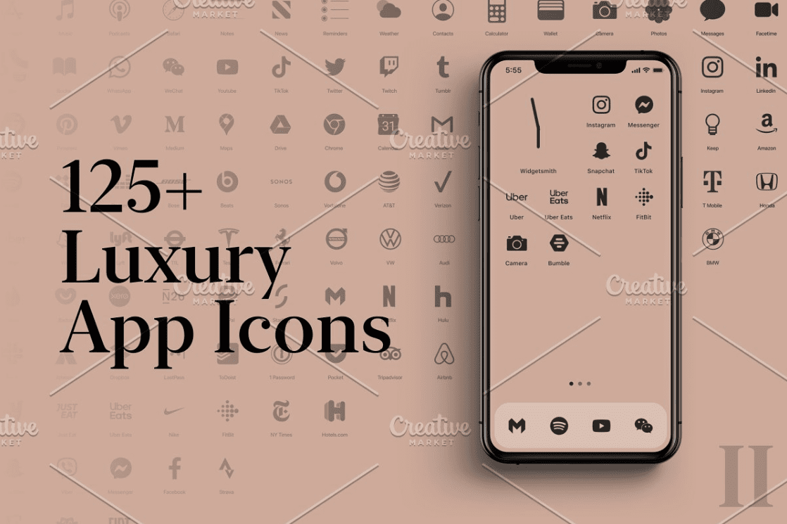 iOS 14 Icon Sets. Everything You Need to Know about iPhone Custom Icons + 30 Best Icons for Your Apple Device - custom icons app iphone 10