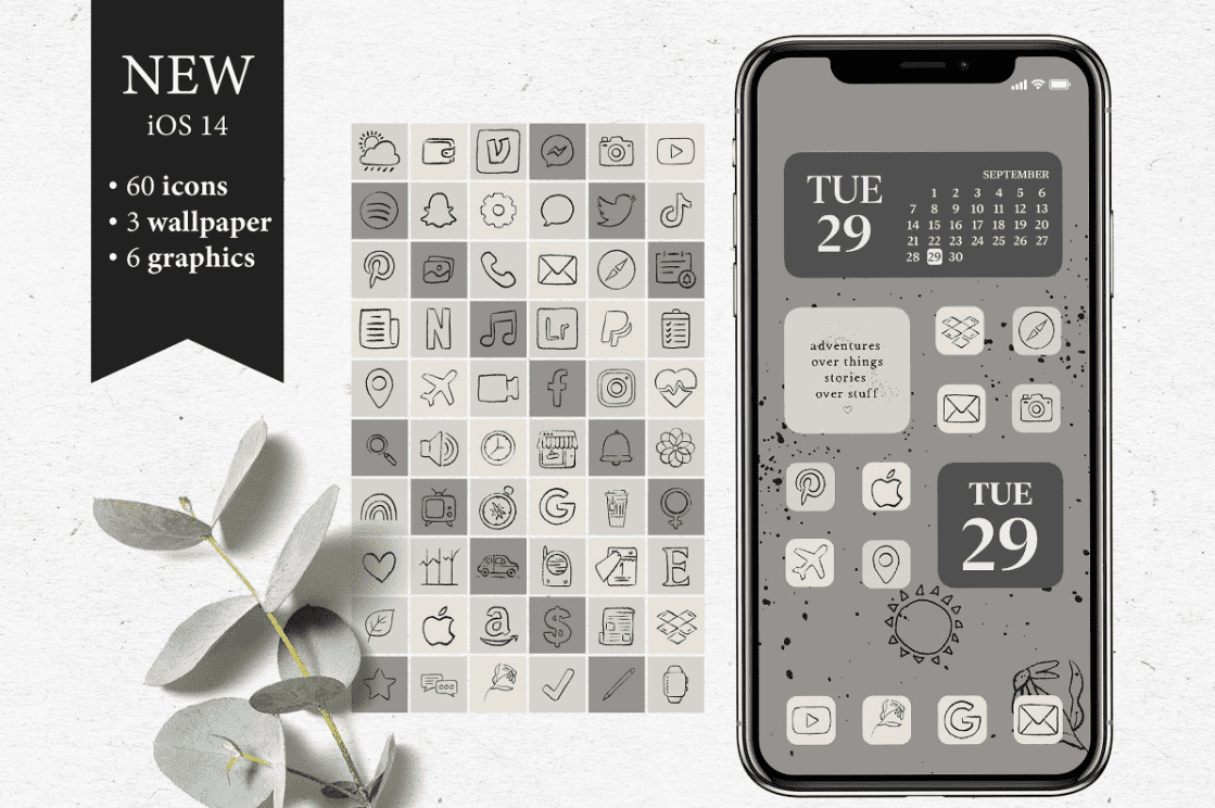 iOS 14 Icon Sets. Everything You Need to Know about iPhone Custom Icons + 30 Best Icons for Your Apple Device - custom icons app iphone 12