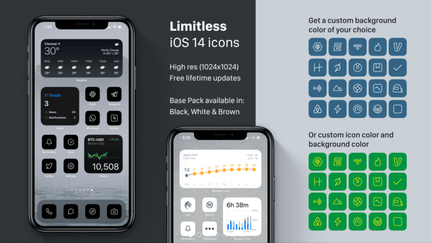 iOS 14 Icon Sets. Everything You Need to Know about iPhone Custom Icons + 30 Best Icons for Your Apple Device - custom icons app iphone 18