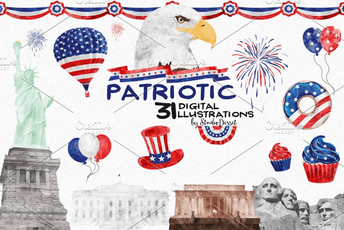 100+ Patriotic T-shirts for Men, Women, and Kids + 35 Mesmerizing T-shirt Designs 2021 - d 10