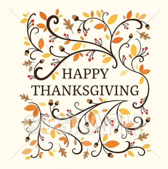 Vector Thanksgiving Background.