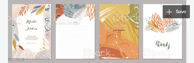 Universal Art Templates_06 stock illustration.