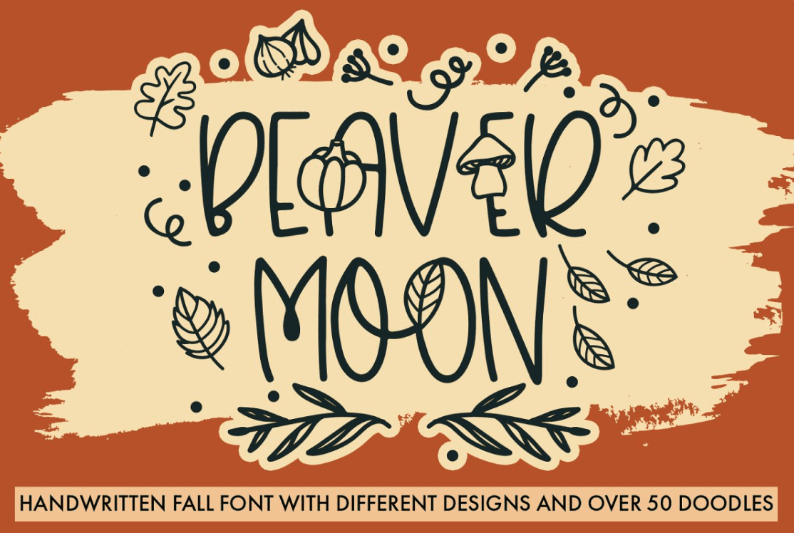 90+ Free Thanksgiving Fonts 2020 [Updated] - font 1 1