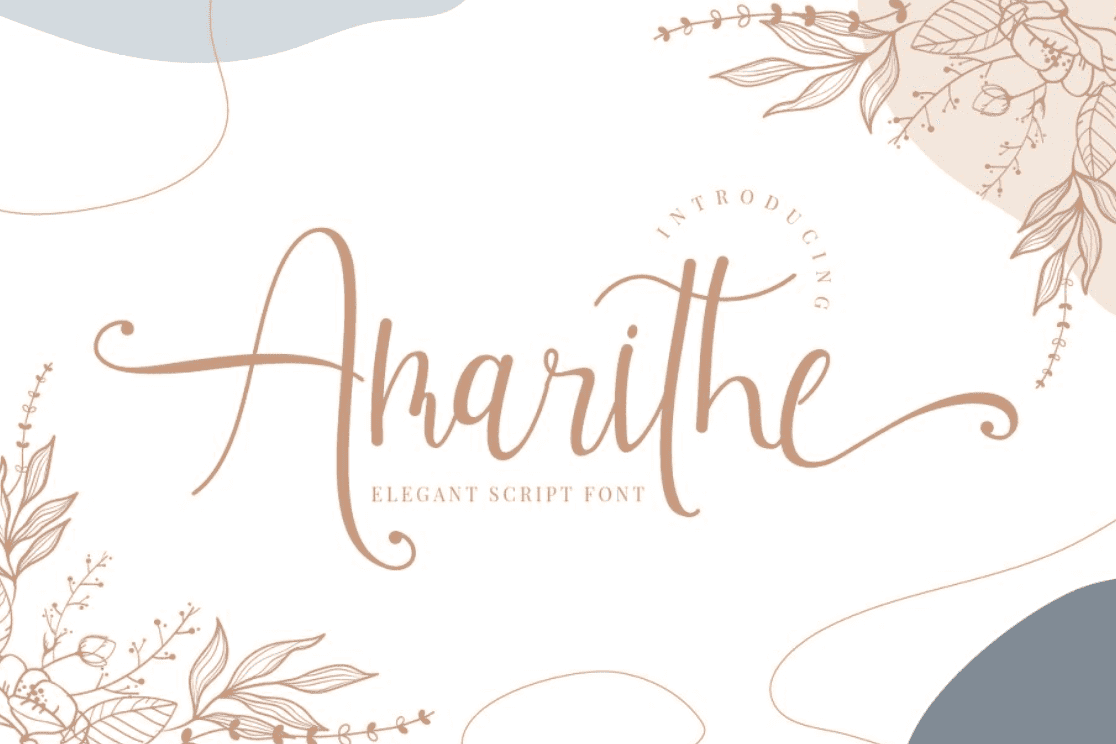 95+ Best Girly Fonts 2021: Free, Premium & Bundles - font 13