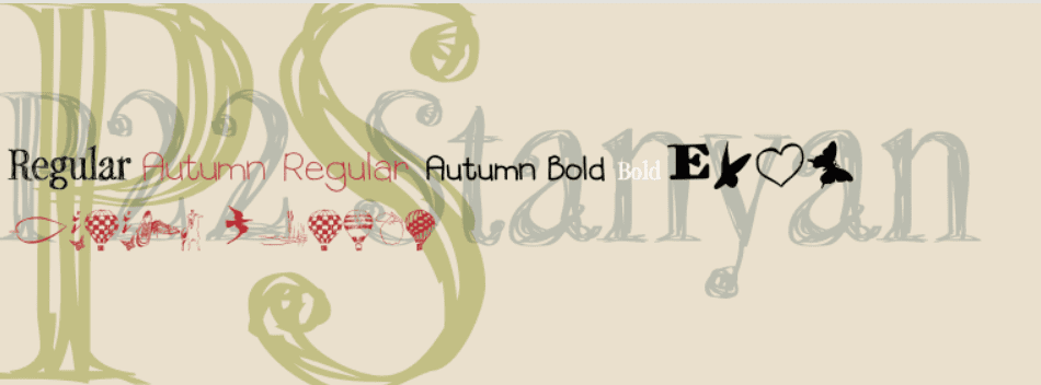 90+ Free Thanksgiving Fonts 2020 [Updated] - font 15 1