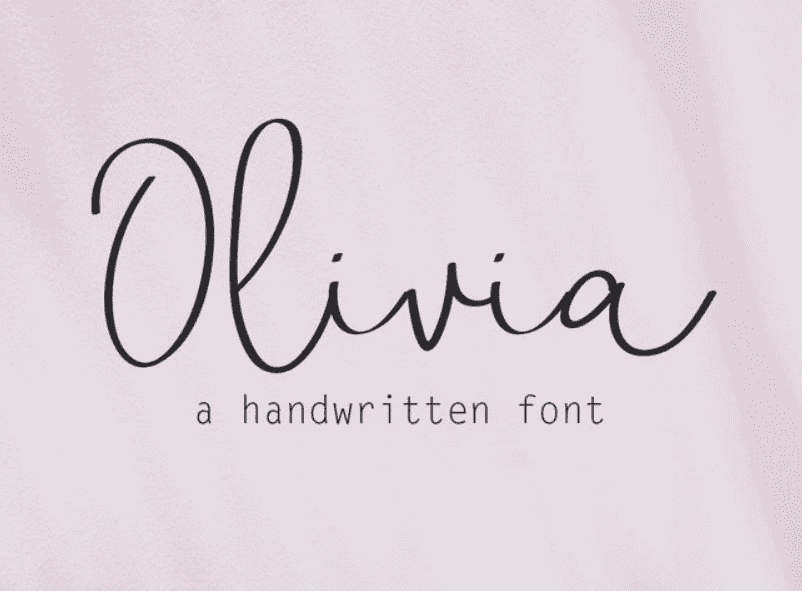95+ Best Girly Fonts 2021: Free, Premium & Bundles - font 22