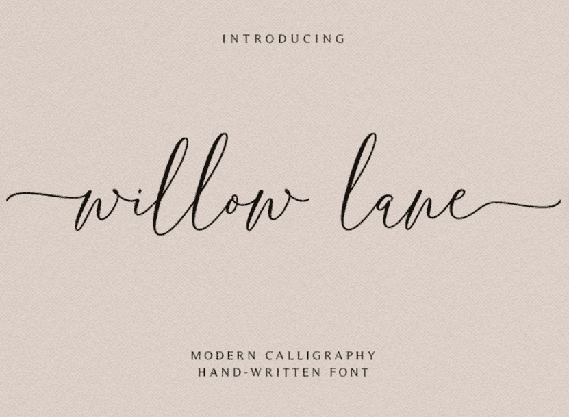 95+ Best Girly Fonts 2021: Free, Premium & Bundles - font 24