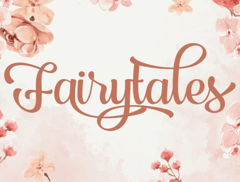 95+ Best Girly Fonts 2021: Free, Premium & Bundles - font 27