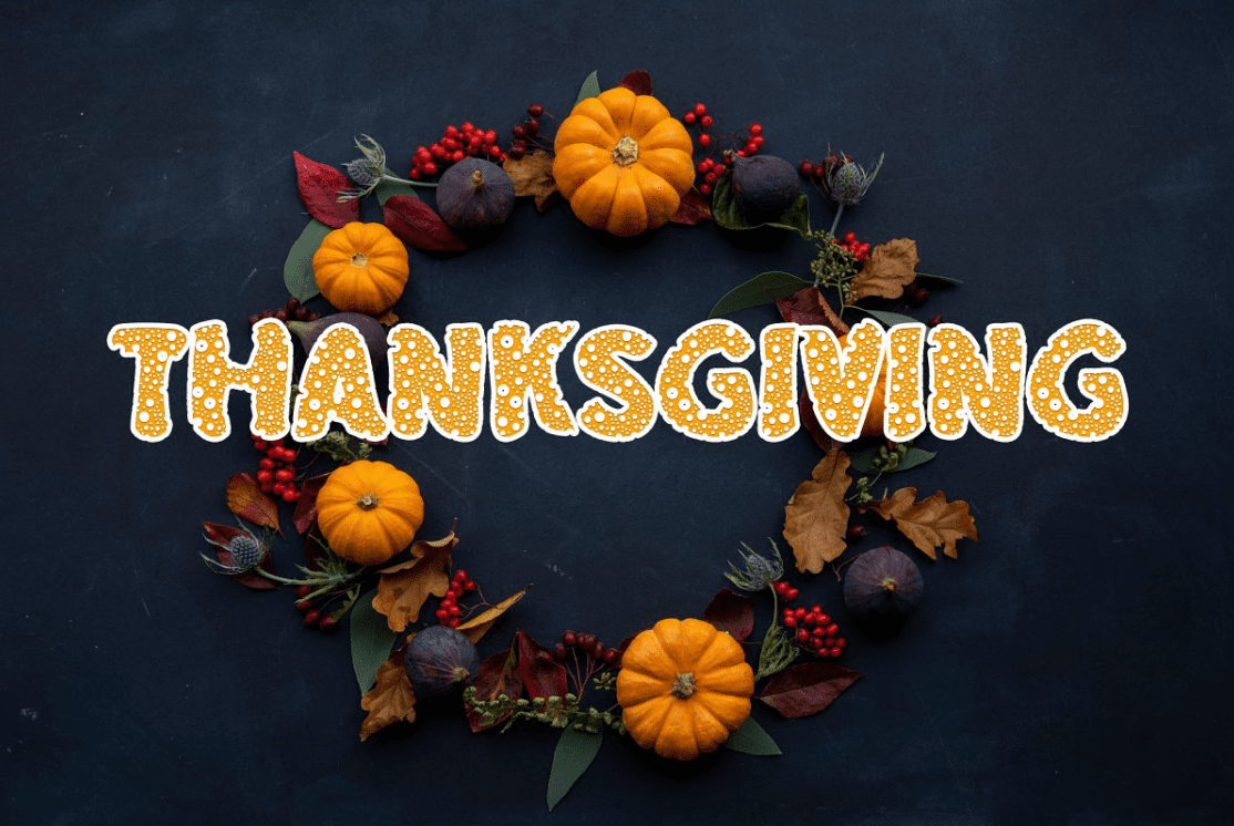 90+ Free Thanksgiving Fonts 2020 [Updated] - font 4 1