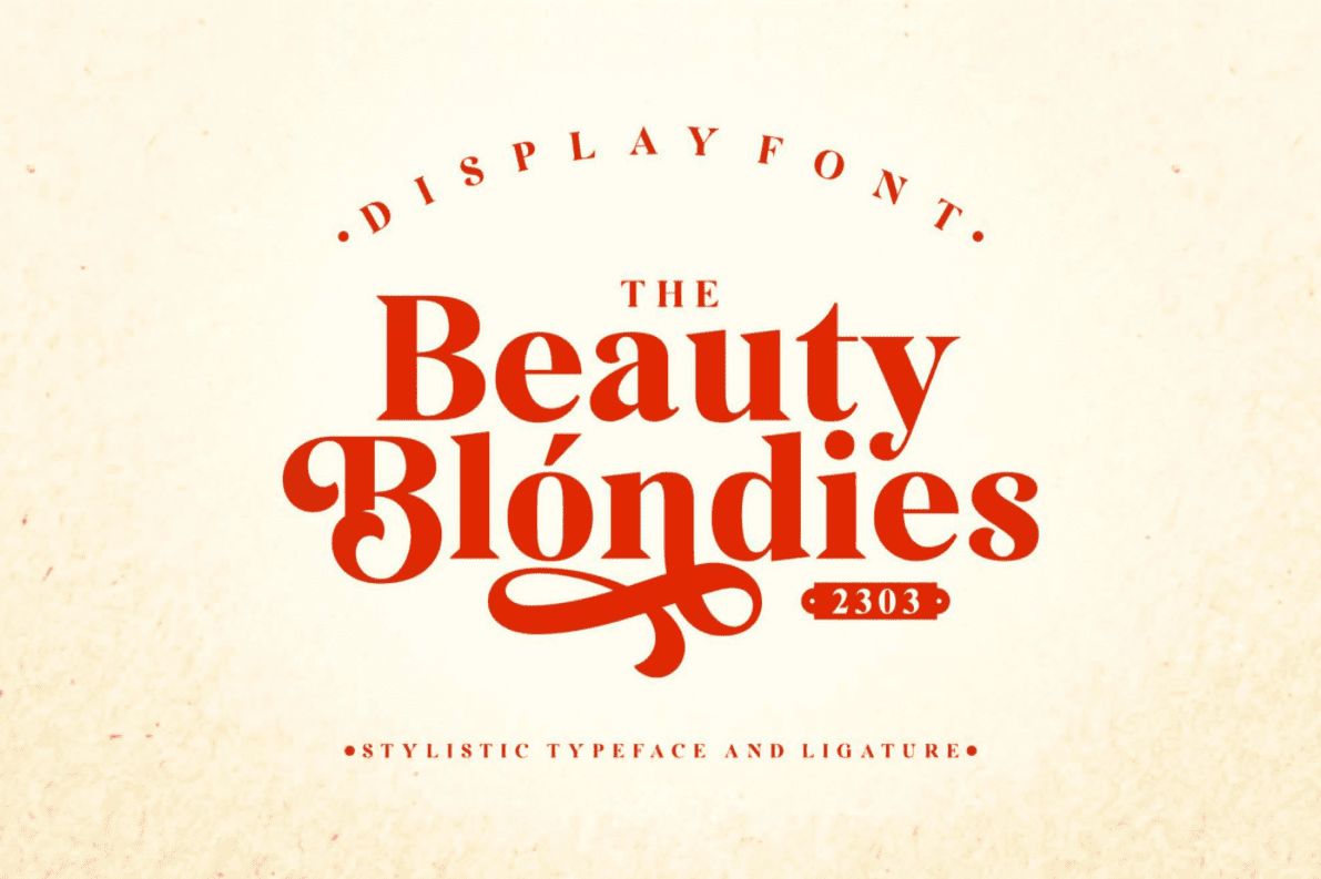 95+ Best Girly Fonts 2021: Free, Premium & Bundles - font 42