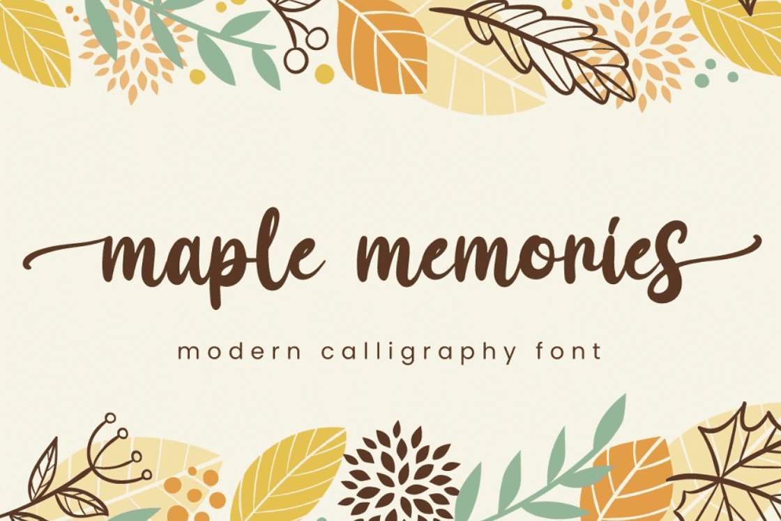 90+ Free Thanksgiving Fonts 2020 [Updated] - font 5 1