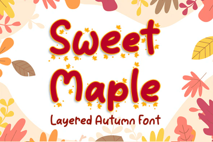90+ Free Thanksgiving Fonts 2020 [Updated] - font 8 1