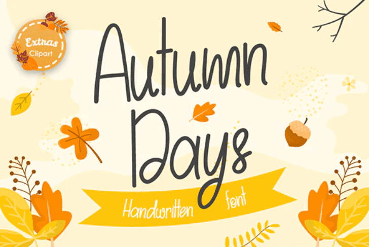 90+ Free Thanksgiving Fonts 2020 [Updated] - font 9 1
