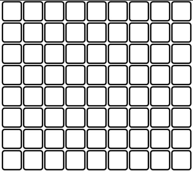 Squares. Geometric Patterns.