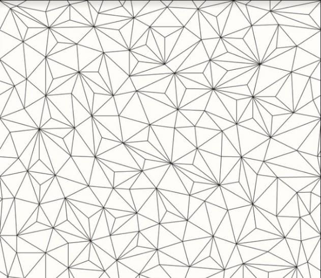 Triangles. Geometric Patterns.