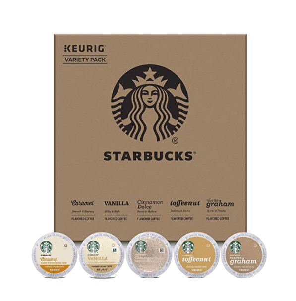 Delicious Starbucks coffee complements. A good gift for those who love something unusual.
