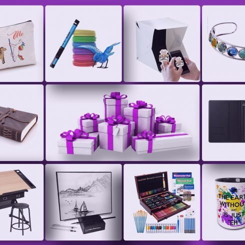 80+ Amazing Gifts for Artists in 2021!