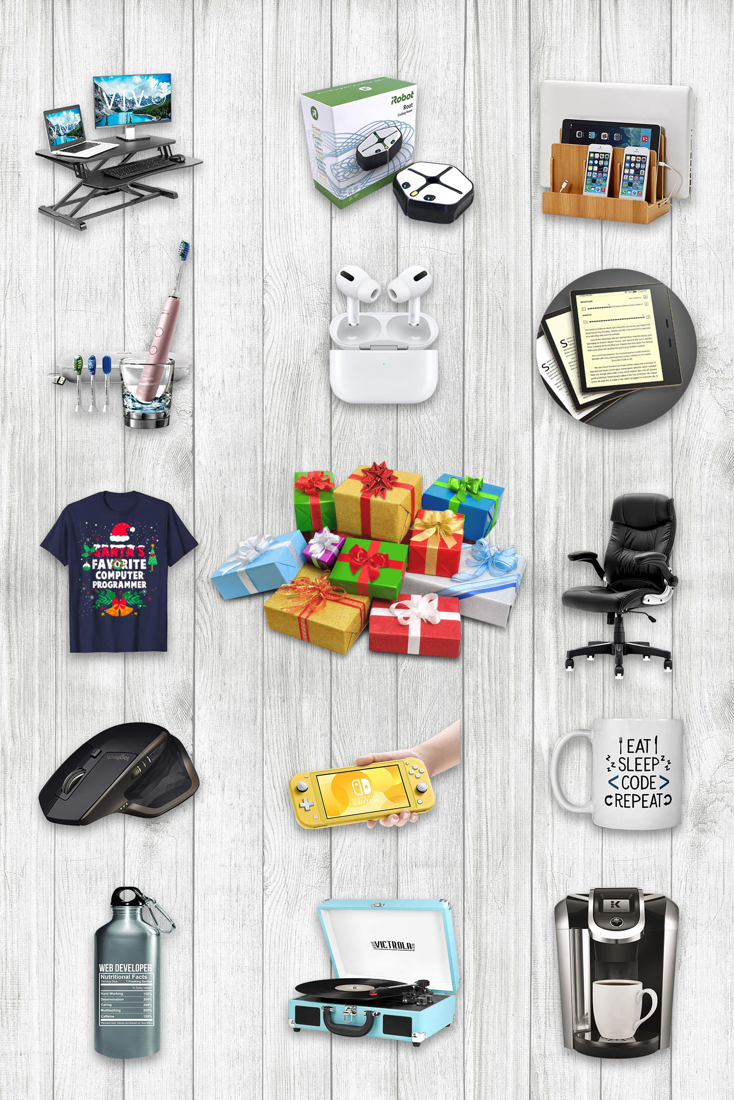 Best Gifts for Programmers. Pinterest Image.