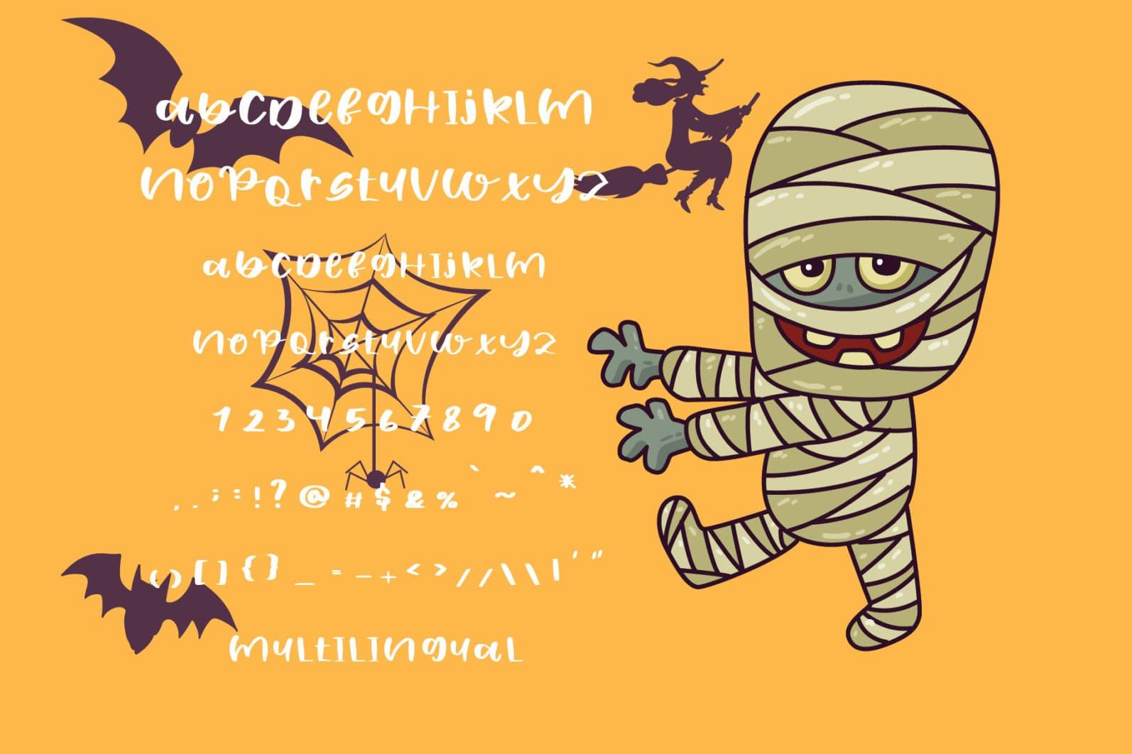 110+ Stunning Halloween Fonts For All Business Ideas 2020 - halloween fonts 04