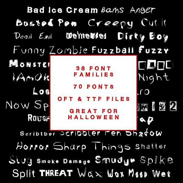 110+ Stunning Halloween Fonts For All Business Ideas 2020 - halloween fonts 27