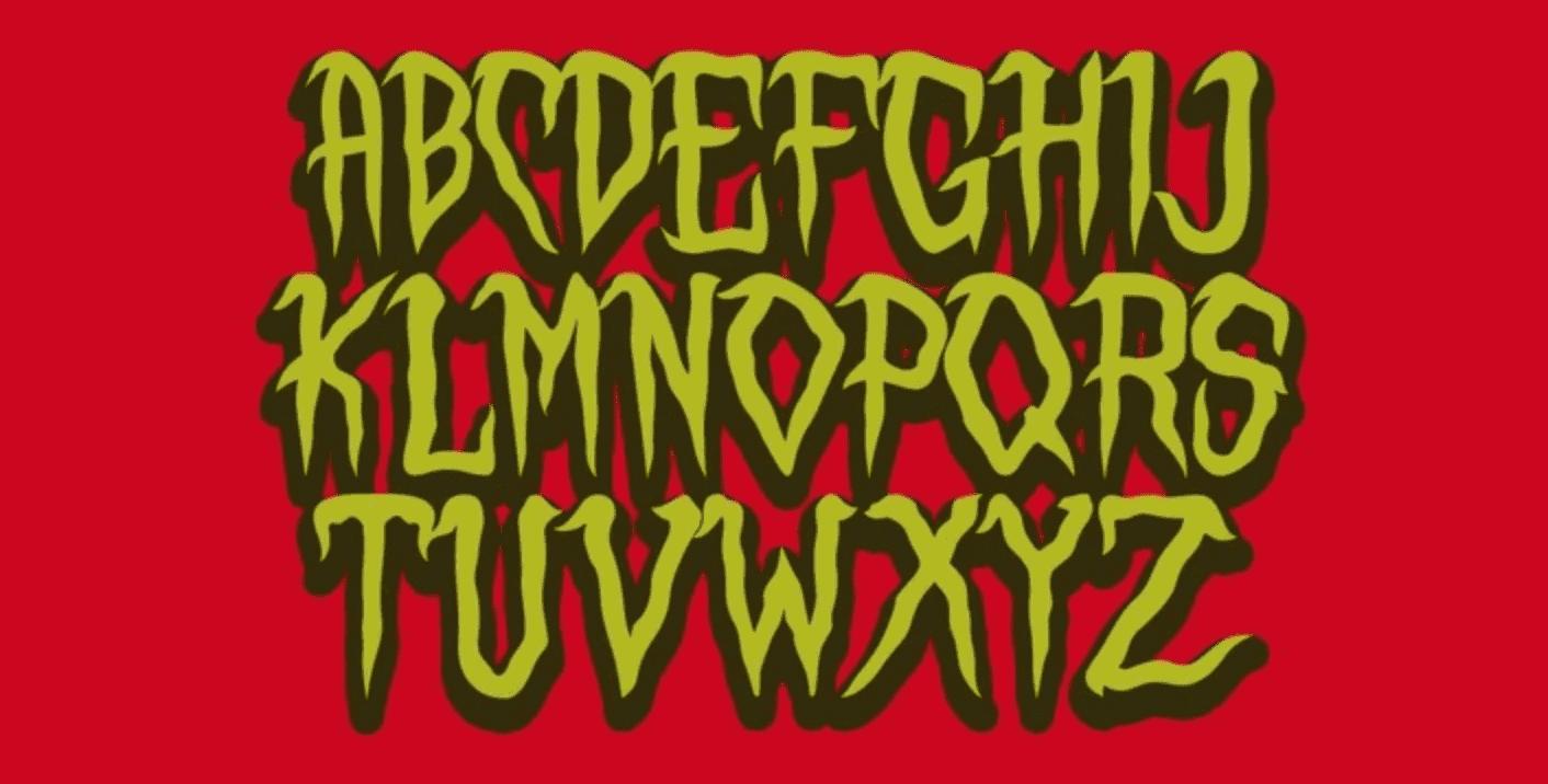 110+ Stunning Halloween Fonts For All Business Ideas 2020 - halloween fonts 35