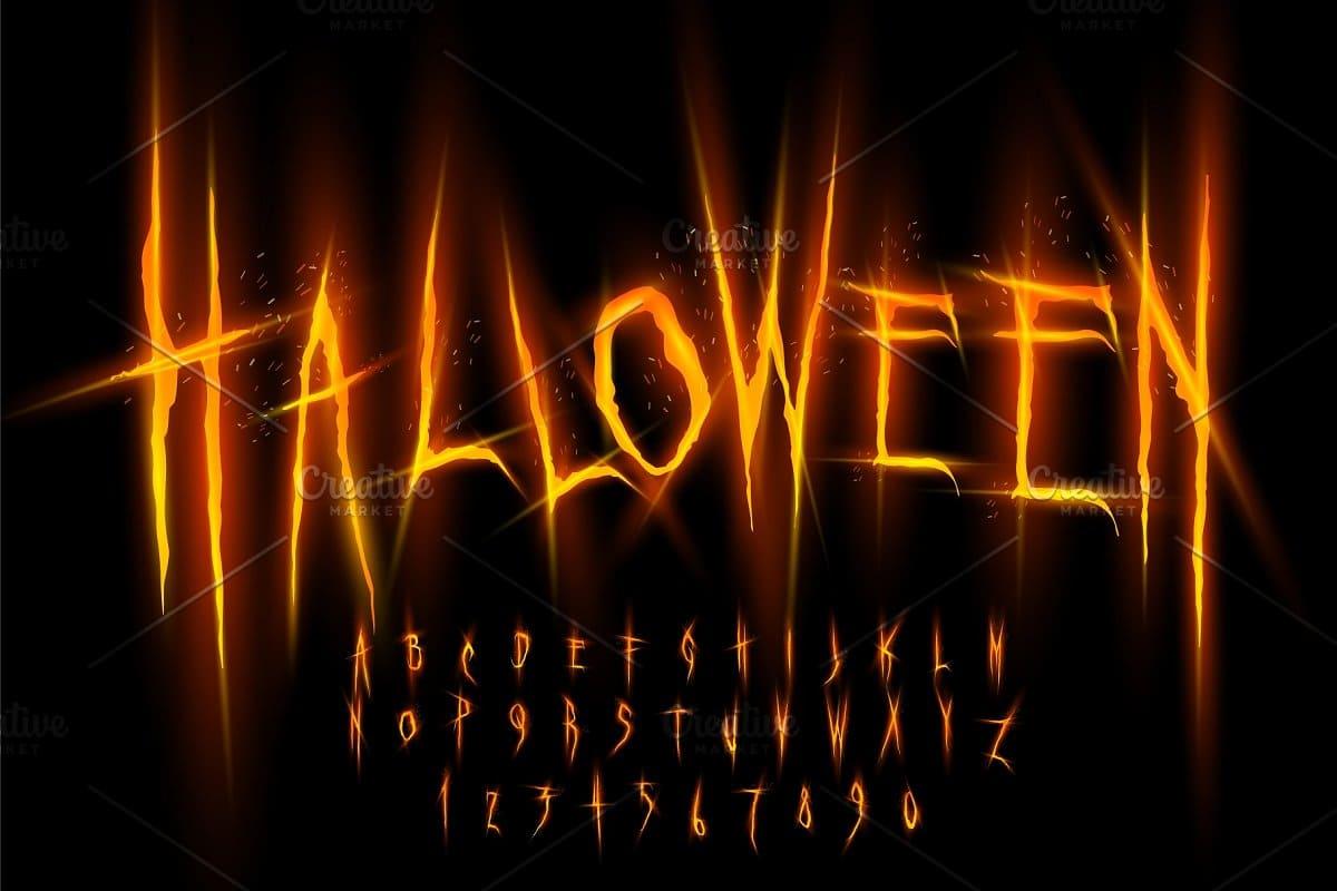 110+ Stunning Halloween Fonts For All Business Ideas 2020 - halloween fonts 63
