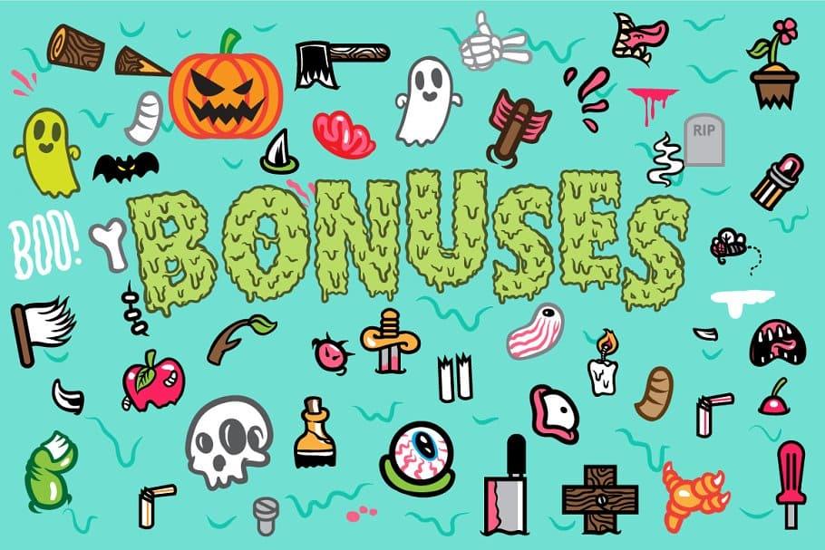 110+ Stunning Halloween Fonts For All Business Ideas 2020 - halloween fonts 75