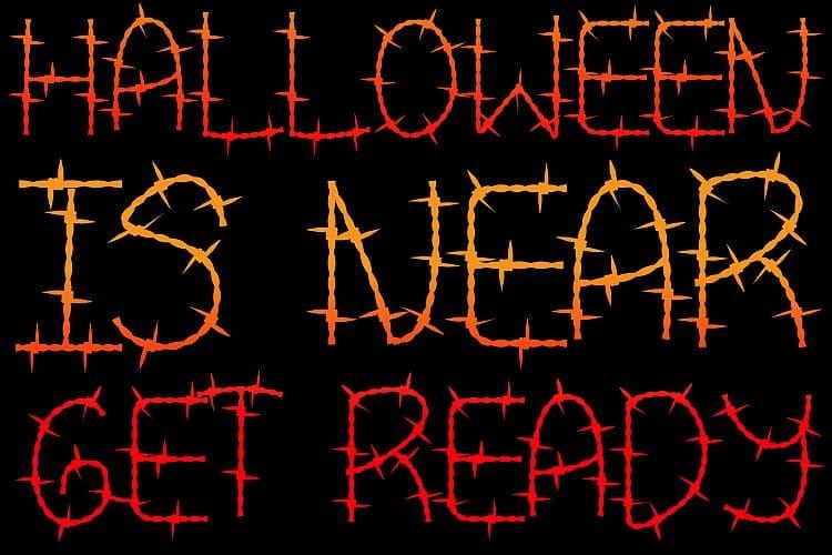 110+ Stunning Halloween Fonts For All Business Ideas 2020 - halloween fonts 88