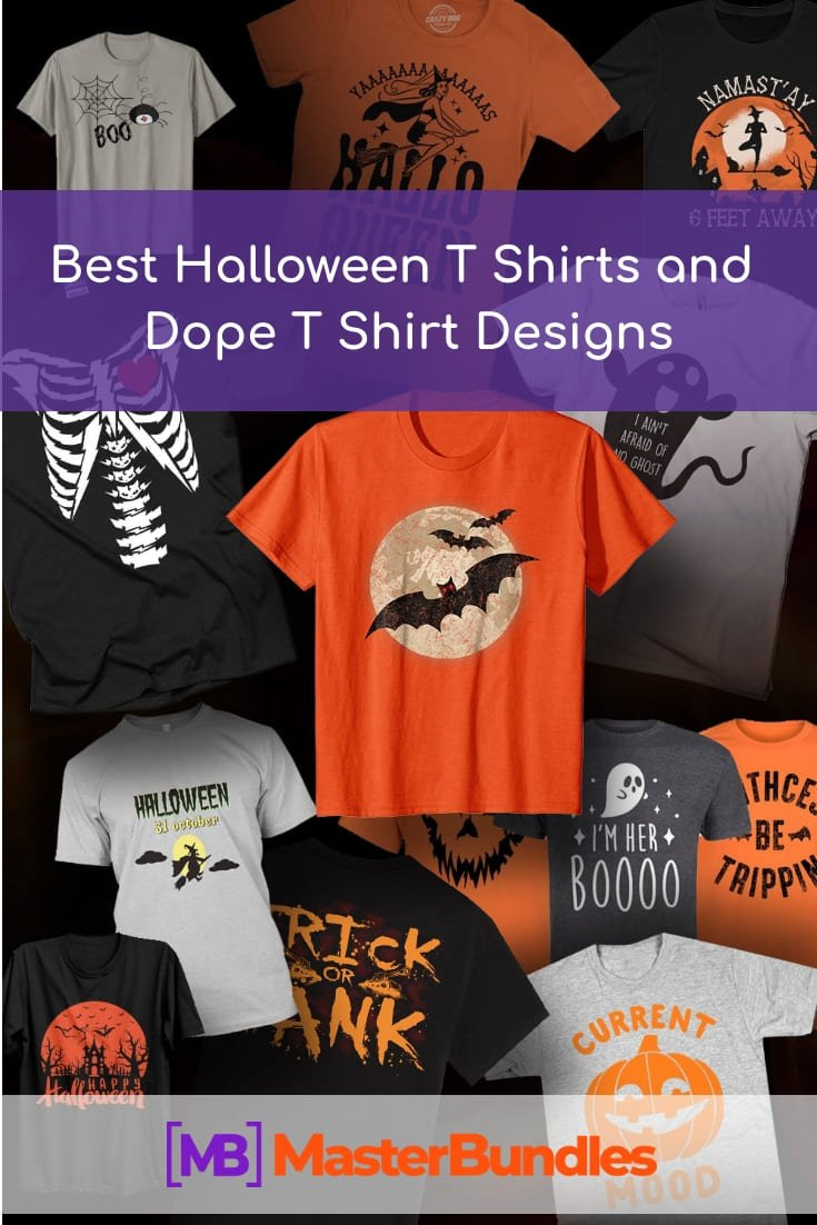 Pinterest Image. Best T Shirts Halloween.